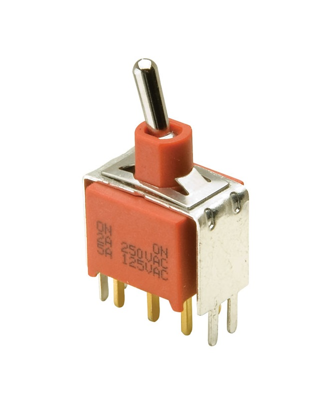 Vs2 DPDT Sealed Vertical Toggle Switch Ip67
