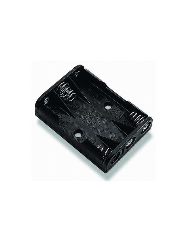 Battery Holder 3XAAA with Flying Leads
